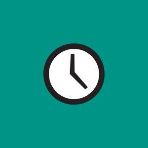 Limite de horário de entrega