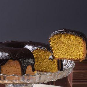Receita Bolo Caseiro de Cenoura com Cobertura de Chocolate