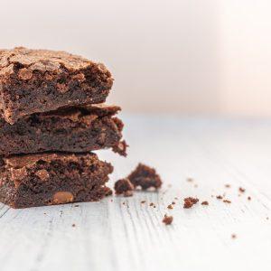 Brownie de Feijão sem Glúten e sem Lactose