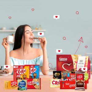 Giveaway Mercadão + Nestlé #Chocolovers